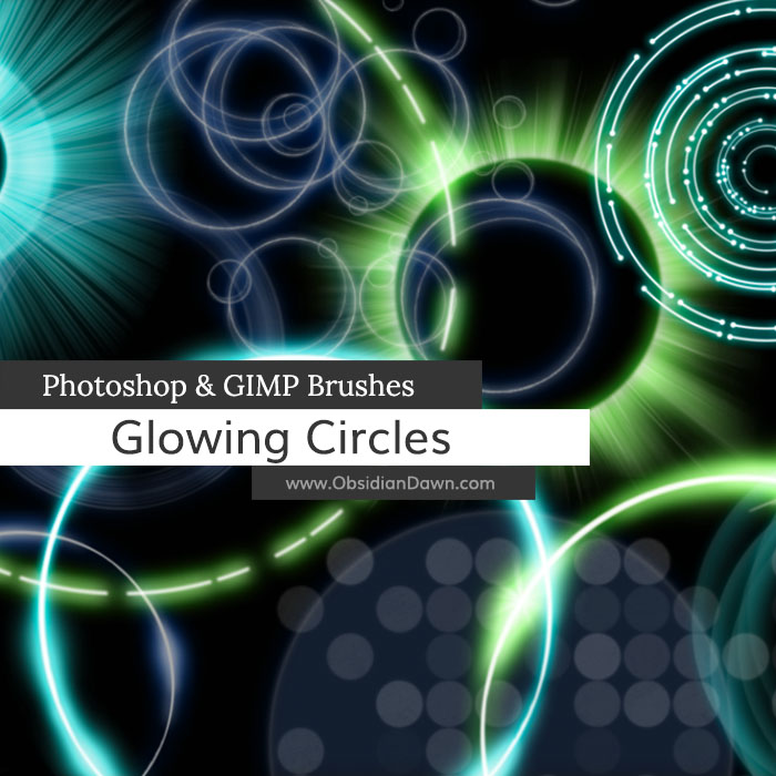Glowing Circles Brushes