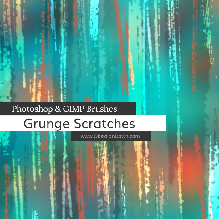 Grunge Scratches Brushes