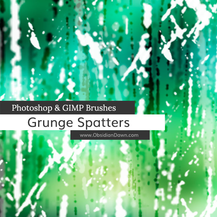 Grunge Spatters Brushes