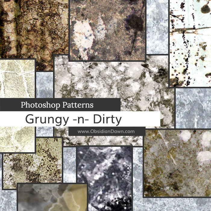 Grungy & Dirty Patterns