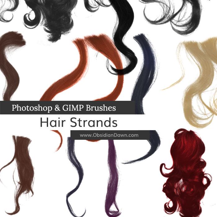 Hair Strands Brushes