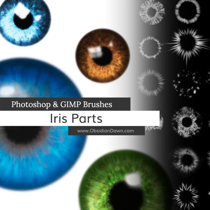 Iris Parts Brushes