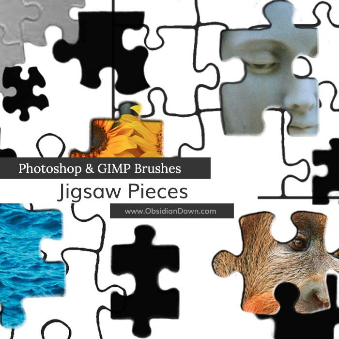 Jigsaw Puzzle Brushes