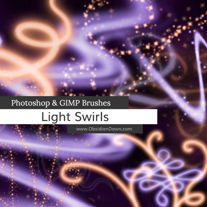 Light Swirls Brushes