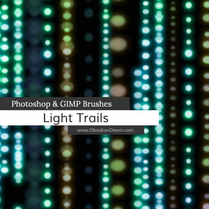 Light Trails Brushes