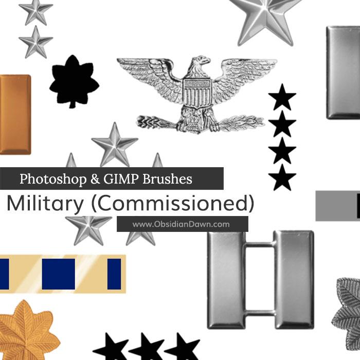 Military I Brushes