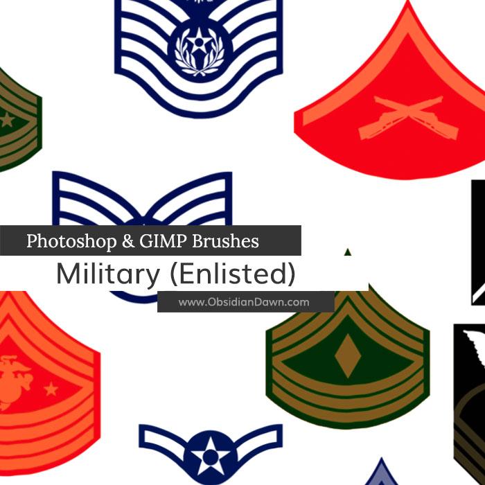Military II Brushes