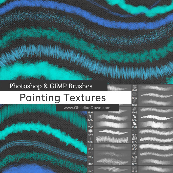 Painting Textures Brushes