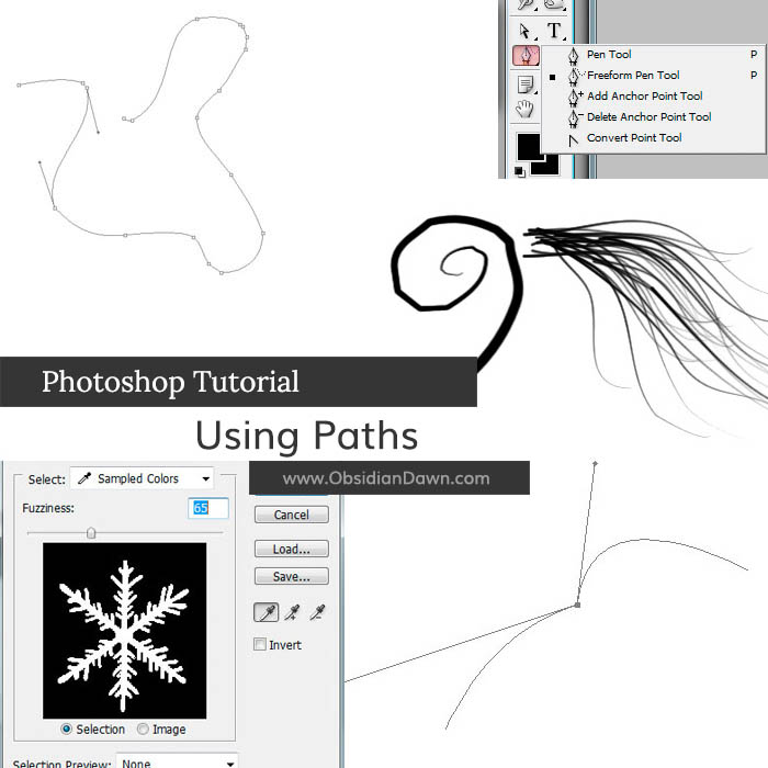 Paths in Photoshop Tutorial