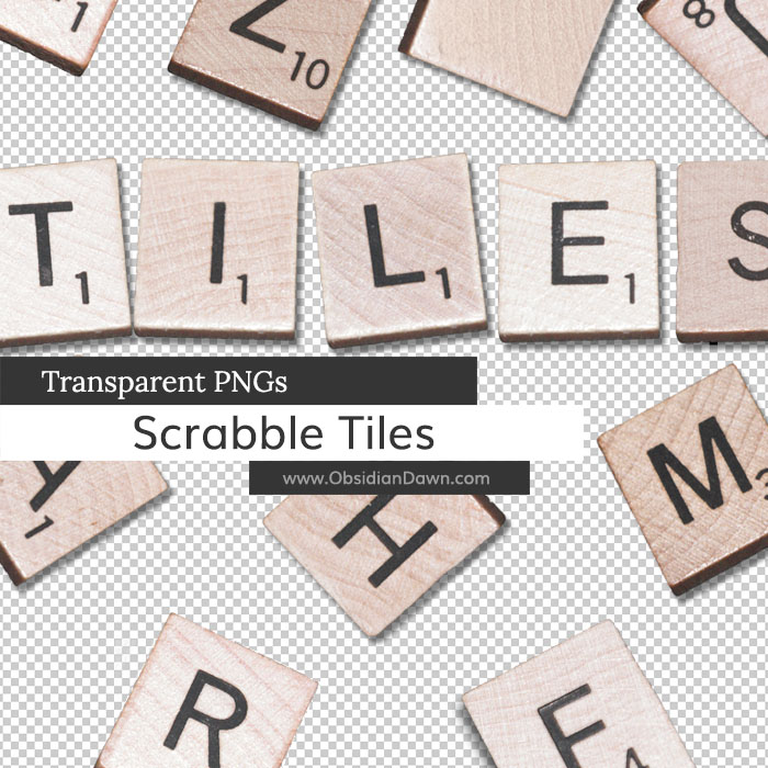 Scrabble Tiles PNGs