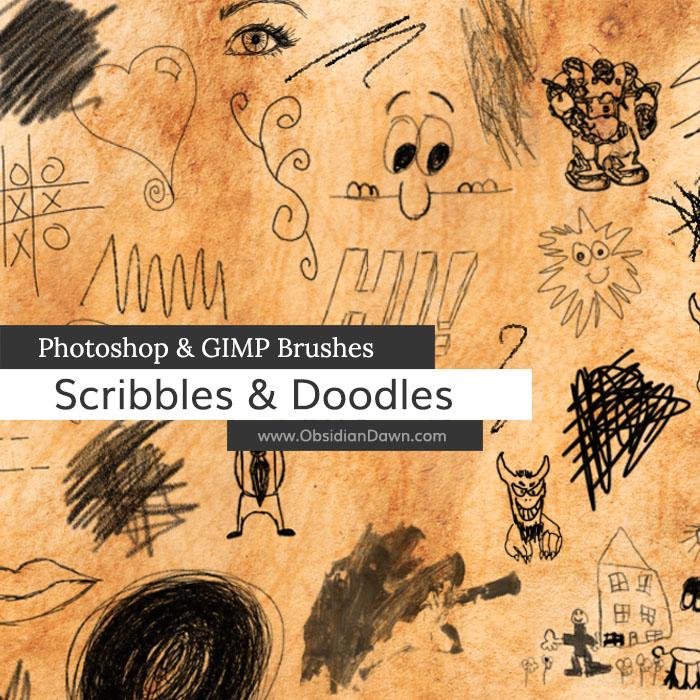 Scribbles & Doodles Brushes