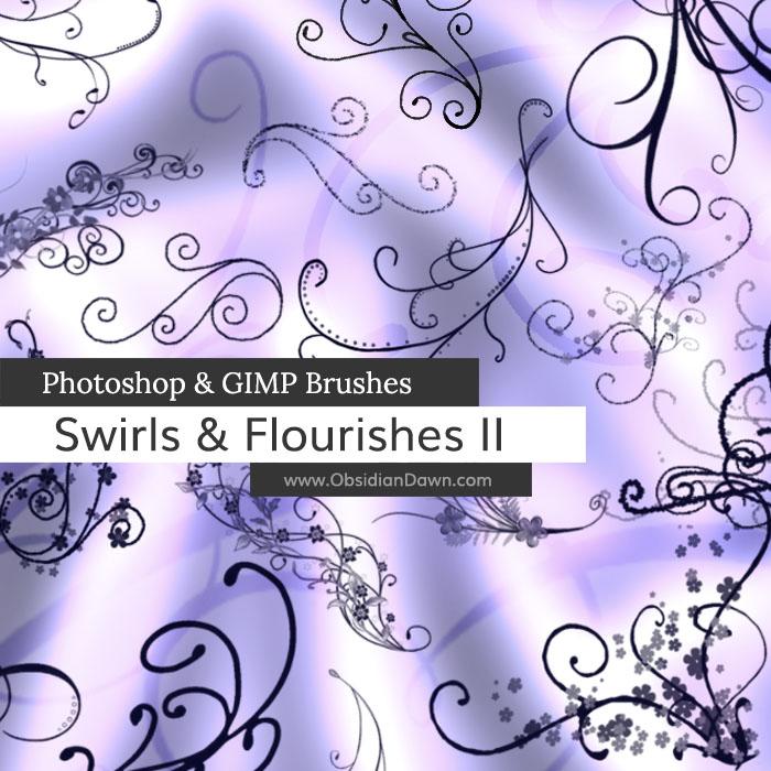 Swirls & Flourishes II Brushes