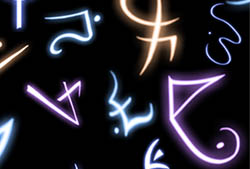 Arcane Runes I Brushes