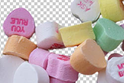 Candy Hearts PNGs