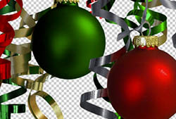 Christmas Ornaments PNGs