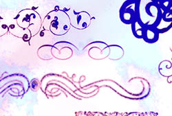 Swirls I Brushes